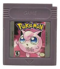 Pokemon Pink Version Game Boy Color GBC Fan Translation Homebrew Hack