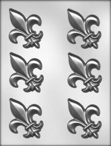 "90-5006 1½/"" Mardi Gras Fleur De Lis Chocolate Mold"