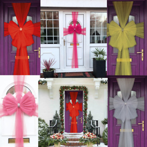 CHRISTMAS DELUXE DOOR BOW XMAS NEW YEAR BABY SHOWER PARTY DECORATION |Best UK