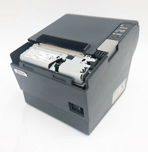 Epson TM-T88IV Thermal Receipt Printer M129H No power adapter Missing cover