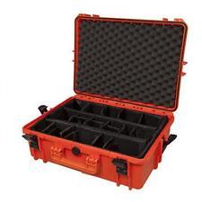 MAX505CAM-O - Equipment Case wasserdicht, orange, inklusiver variabler Taschen/T