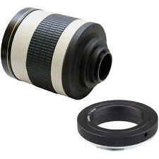 500mm f/6.3 Tele Mirror Lens for Sony A58 NEX-3NL A7 A7II A7S A7R A3000 A6000 Ca