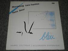 Mariannig Larc'Hantec & Yann Dour~Bleu~Harpe Celtique~Celtic Harp~FAST SHIPPING!