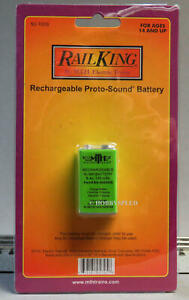 MTH PROTO SOUND RECHARGEABLE BATTERY O GAUGE train locomotive engine 50-1008 NEW