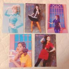 "Red Velvet "" # Cookie Jar "" Event Limited Photo Post Card 5 Set Complete"