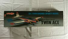 Vintage (Rare) Pilot Quick Built Series Twin Ace RC Twin Engines Sporty Model