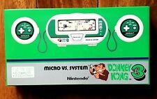 DONKEY KONG 3 GAME WATCH MICRO VS SYSTEM NINTENDO BRAND NEW NEVER OUT OF THE BOX