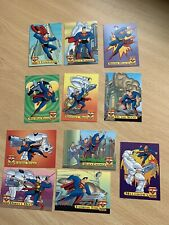 Superman: Action Packs - x 11 -  PART SET ONLY Fleer/Skybox - 1996 VGC