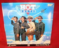 Laserdisc G * Hot Shots! * Charlie Sheen Cary Elwes Valeria Golino