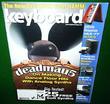 2010 DEADMAU5, INFINITE RESPONSE VAX-77 Folding Keyboard, DIANE WARREN, Magazine