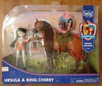 Spirit Riding Free URSULA & BING CHERRY Horse & Doll NETFLIX Riding Set NEW