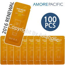 Hera Sun Mate Daily 1ml x 100pcs (100ml) SPF35 Sample AMORE PACIFIC 2016 Renewal