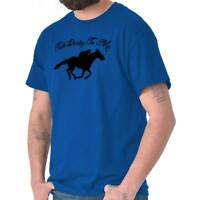 Talk Derby To Me Funny Kentucky Horse Country T-Shirts T Shirts Tees For Womens