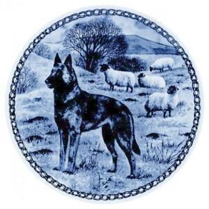 Belgian Malinois - Dog Plate made in Denmark from the finest European Porcelain