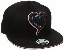 Metal Mulisha Womens Shocker Snapback Hat, Jet Black, One Size
