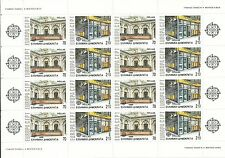 Grecia  EUROPA cept 1990 ** MNH - Hoja bloque / Souvenir Sheet