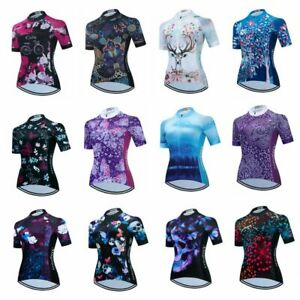Women's Cycling Jersey Clothing Bicycle Sportswear Short Sleeve Bike Shirt X29