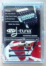 EVH® D-Tuna Drop D Tuning System For Floyd Rose Bridges~Gold~Made USA~Brand New