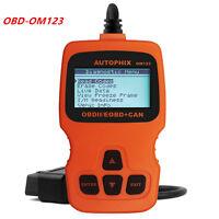 OBD2 OBDII EOBD Scanner Car Code Reader Data Tester Scaner Diagnostic OM123 New