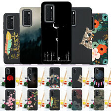 Para Huawei P Smart Z P40 P30 P20 P9 P8 Lite De Silicona Cubierta de TPU delgado Pintado