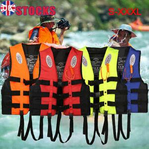 Adults/Kids Life Jacket Aid Vest Kayak Ski Buoyancy Fishing Sail Boat Watersport