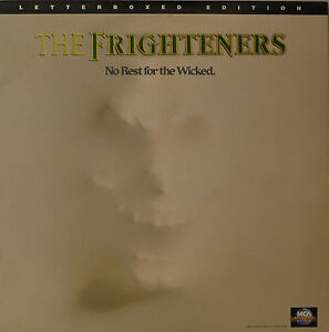 """THE FRIGHTERS - NO REST FOR THE WICKED - LASERDISC  12""""  LD (O99)"""