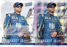 DALE EARNHARDT JR 2016 PANINI BLACK FRIDAY 1 of 1 & AUTOGRAPH *VERY RARE*