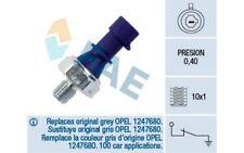 FAE Interruptor de control la presión aceite Para OPEL ASTRA 12439