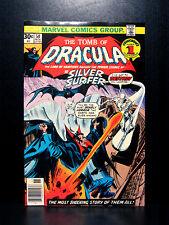 COMICS: Marvel: Tomb of Dracula #50 (1976), Silver Surfer app - RARE