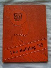 1955 PRIMERO HIGH SCHOOL YEARBOOK  SEGUNDO, COLORADO  BULLDOG