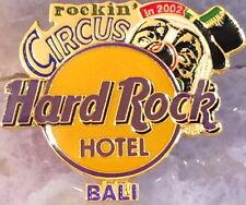 Hard Rock Hotel BALI 2002 Rockin' Circus HRH Logo PIN  - HRC Catalog #15490