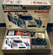 "RARE 1986 ORIGINAL TAMIYA TAMTECH LANCIA LC2 FULL KIT 47002 ""NEW IN BOX"""