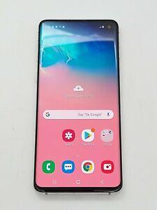 Samsung Galaxy S10 SM-G973U - 128GB - Prism White (AT&T Unlocked) *Check IMEI*