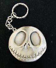 Solid Pewter Nightmare Before Christmas Jack Skeleton Figurine Keychain #7