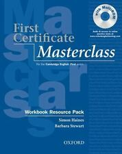 First Certificate Masterclass Workbook with out Answer key, , Stewart, Barbara,