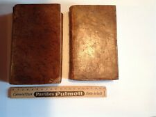 Livres anciens, La vie et les aventures de Robinson Crusoé, 1775 (2 tomes)