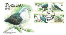 Tokelau 1995 Pacific Imperial Pigeon - Bird WWF FDC