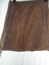 Bench brown wrap around cord skirt waist size 30 size 12