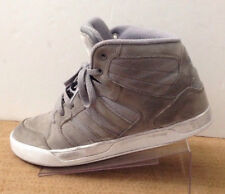 Adidas Neo Mens 7.5 Raleigh Mid Gray Athletic Basketball Skate High Top F98978