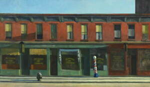 Edward Hopper Early Sunday Morning Giclee Canvas Print Paintings Poster Reproduc