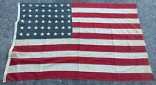 Vintage 48 Star USA American Flag 43x66 inches in  Good condition
