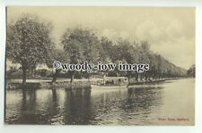 tp9284 - Beds - A Pleasure Boat Travels up the River Ouse, at Bedford - Postcard