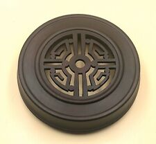 "6.25"" Brown Chinese Oriental Wooden Lid Cap Cover for Ginger Jar and Vases"
