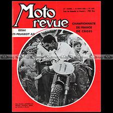 MOTO REVUE N°1453 AGF FOLLIS HAZIANIS PEUGEOT 175 TYPE 176 AD JEAN BEHRA 1959