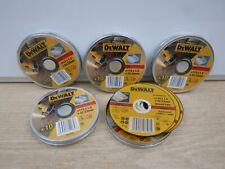 50 X DEWALT DT42335TZ DT42240Z 115MM 1.2MM INOX STAINLESS STEEL GRINDER DISCS