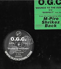 ORIGINAL GUN CLAPPERS-DUCK DOWN RECORDS-BOUNCE TO THE OUNCE/SUSPECT-HAVOC-PROMO