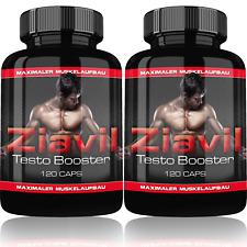 2x Ziavil anabol Testosteronbooster Testobooster schneller Muskelmittel creatin