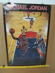 1988 Michael Jordan Poster Starline NBA Basketball Chicago Bulls