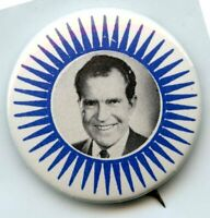 Richard Nixon Political Campaign Vote Election Pinback Button Pin Vintage BK727