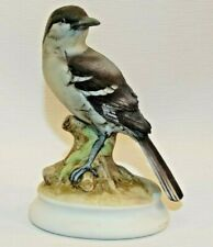 "Lefton Mockingbird Bird 5 1/4"" Figurine Hand Painted Porcelain China #Kw 1184"